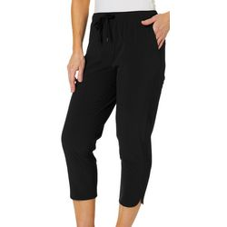Reel Legends Womens Adventure Drawstring Performance Capris