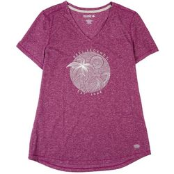 Reel Legends Womens Graphic Soft  T-Shirt