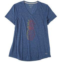 Reel Legends Womens Pineapple T-Shirt