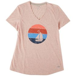 Reel Legends Womens Sailing T-Shirt
