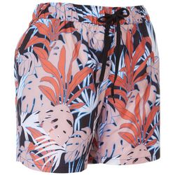 Reel Legends Womens 5'' Woven Tropical Nights Shorts