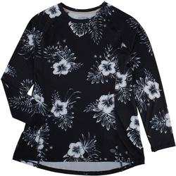 Womens Keep It Cool Sketchy Floral Packable Top