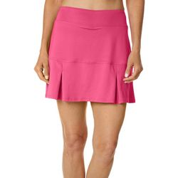 Reel Legends Womens Beach Comber Cascade Palms Deboss Skort