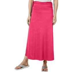 Womens Keep It Cool Crackle Deboss Skirt