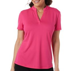 Womens Freeline Solid Diamond Texture Top