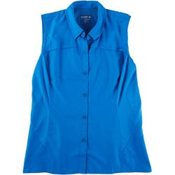 Reel Legends Womens Saltwater II Sleeveless Top