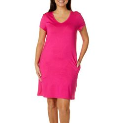 Womens Keep It Cool Solid Dress