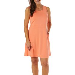 Reel Legends Womens Keep It Cool Cage Back Dress
