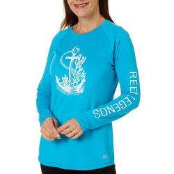 Womens Keep It Cool Screenprint Anchor Top