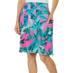 Reel Legends Womens Keep It Cool Rainforest Cabana Skirt