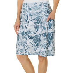 Reel Legends Womens Keep It Cool Marble Cabana Skirt