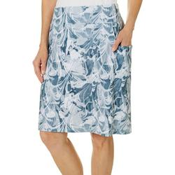 Womens Keep It Cool Marble Cabana Skirt