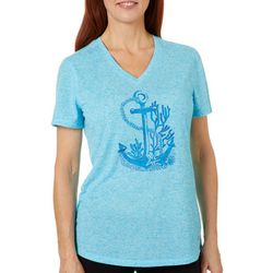 Reel Legends Womens Anchor of Hope Top