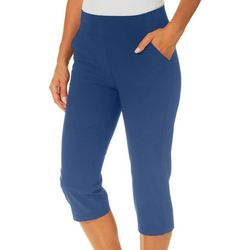 Womens Adventure Solid Capris