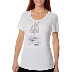 Womens Sun Sea & Sailing T-Shirt