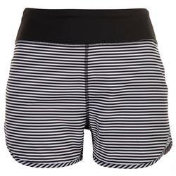 Womens Striped Swim Shorts