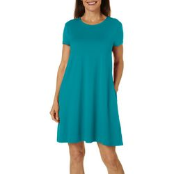 Womens Elite Comfort Solid Sundress