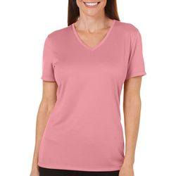 Womens Freeline Shimmer Solid Top
