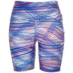 Womens Tidal Wave Fitted Swim Shorts