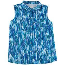 Reel Legends Womens Majestic Mariner Collared Shirt