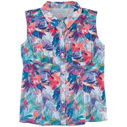 Womens Mariner Tropical Party Shirt