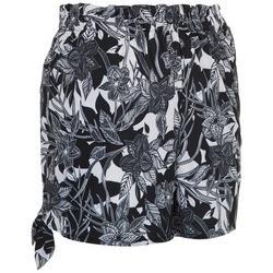Womens Polynesian Beach Day Shorts