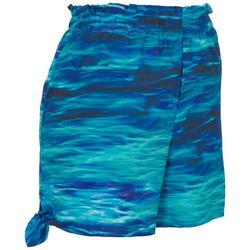 Womens Calm Water Beach Day Shorts