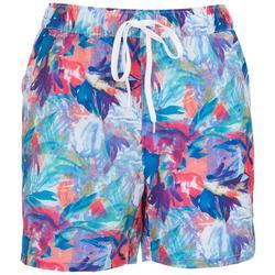 Womens Tropical Skin Shorts