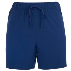 Womens Adventure Solid Pull On Shorts