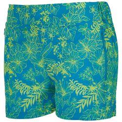 Reel Legends Womens Island Zip Pockets Shorts