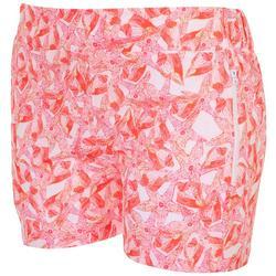 Womens Starfish Zip Pockets Shorts