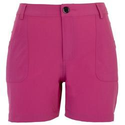 Womens Back Zip Pocket Adventure Shorts