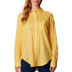 Womens PFG Bright Printed Long Sleeve Top