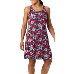 Womens PFG Printed Sleevless Dress
