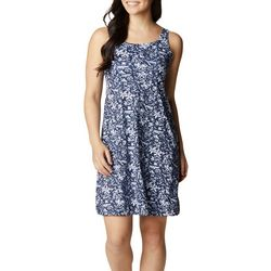 Columbia Womens Printed  Sleevless Dress