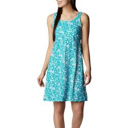 Womens PFG Tropical Print Sleevless Dress