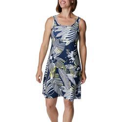 Womens Printed PFG Sleevless Dress