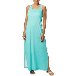Columbia Womens Freezer Solid Color Maxi Dress