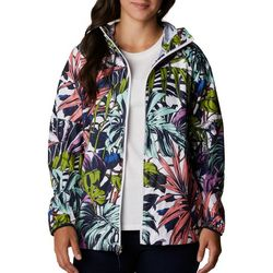Columbia Womens Printed Rain Jacket