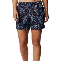 Womans Printed Shorts