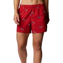 Womans Print Shorts