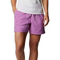 Columbia Womens Drawstring Solid Shorts