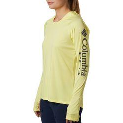 Columbia Womens PFG Tidal Tee Long Sleeve Hoodie