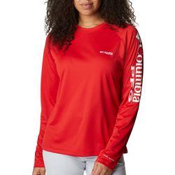 Columbia Womens PFG Solid Long Sleeve Shirt