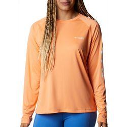 Columbia Womens Logo Long Sleeve Shirt