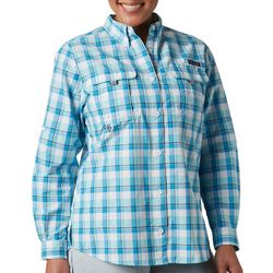 Columbia Womens PFG Super Bahama Long Sleeve Shirt