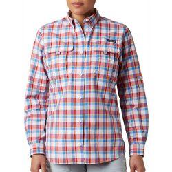 Columbia Womens PFG Super Bahama Long Sleeve Shirt