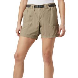 Columbia Womens Belted Sandy River Cargo Shorts