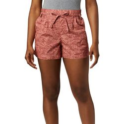 Columbia Womens Summer Chill Bamboo Print Shorts