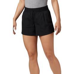 Womens PFG Slack Water Woven Solid Shorts